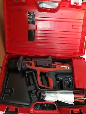 Hilti DX 76 nail gun. New condition