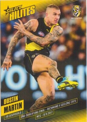 2017 Select Hilites Round 2Nd Qualifying Final Dustin Martin Richmond Tigers