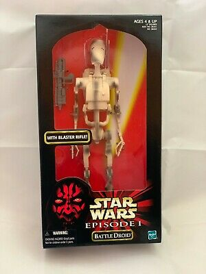 "Star Wars Episode 1 Battle Droid Hasbro Action Collection 1999 12"" Action Figure"