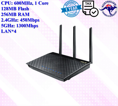 Asus RT-AC66U AC1750 Dual Band Wireless Router Smart WIFI Gigabit