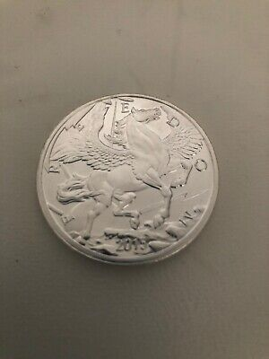 2015 Pegasus 1 Oz Silver Coin - Limited Mintage