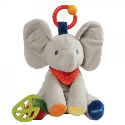 GUND baby Flappy the Elephant Activity Soft Toy Plush
