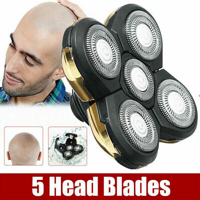 5 Head Floating Men Electric Shaver Washable Beard Hair Trimmer Bald Razor Z6X7N