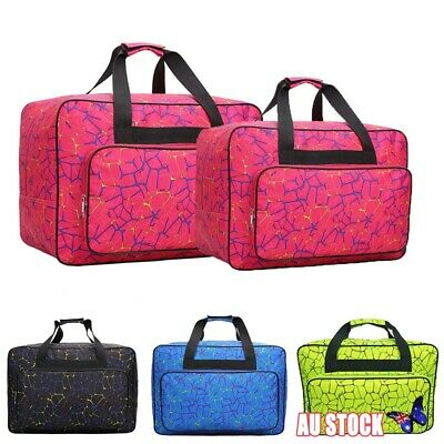 Sewing Machine Tote Bag Travel Carrying Case Cover Home Storage Nylon Handbag AU
