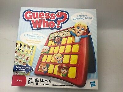 Guess Who The Original Guessing Game By Hasbro 2009 Game Good Condition Complete