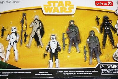 Star Wars Hasbro Solo Imperial Trooper 6-Pack Target Exclusive Action Figures