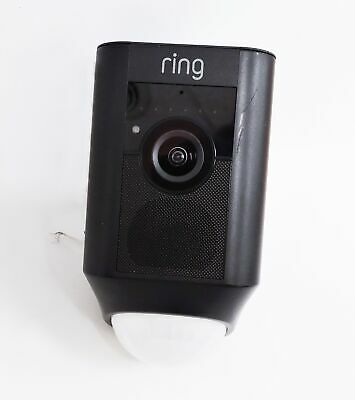 Ring Floodlight Camera Motion-Activated HD Security Camera Only - Black