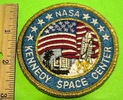 Kennedy Space Center Nasa  Embroidered  Patch  New.. Free  Shipping  !!!