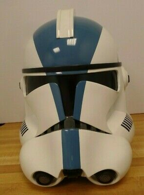 Master Replicas Star Wars 501St Legion Clone Trooper Helmet 1:1 Replica 2005
