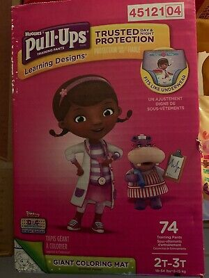 Huggies® Pull-Ups Learning Designs Potty Training Pants for Girls  Size 2T-3T