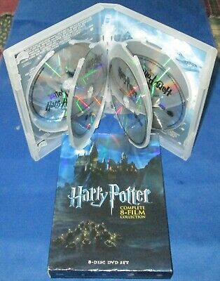 HARRY POTTER: Complete 8-Film Collection (2011) 8-Disc DVD BOX Set