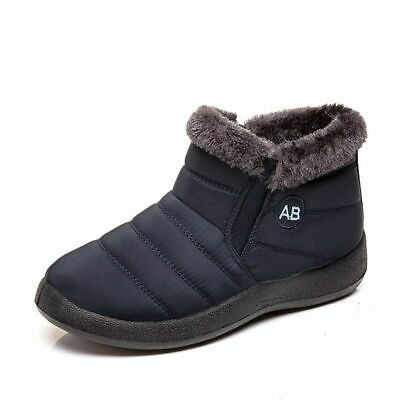Women Warm Winter Boots 2019 New Comfortable Plush Casual Snow Boots High-to