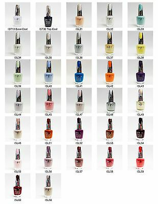 OPI Nail Polish Color INFINITE SHINE Variations Colors ISL31 to ISL60 .5oz/15mL