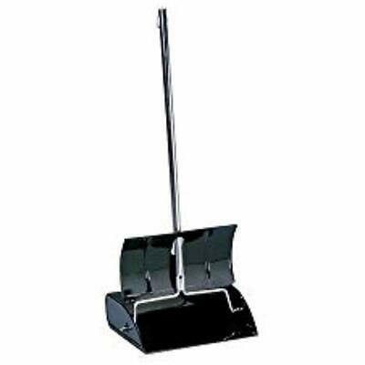 "Impact Dustpans Black Metal Lobby Pan Industrial "" Scientific"
