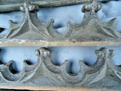 Collection Of 17Th / 18Th  Century Gothic Oak Carved Fragments