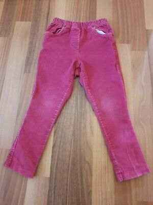 Girls George, Asda 3-4 Years, Pink Cord Trousers, Bottoms.