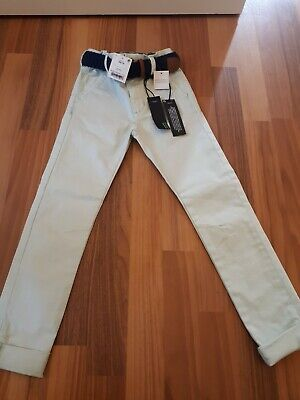 BNWT Next Boys Size 6 Years, Light Blue Chino Style, Slim Fit Trousers.