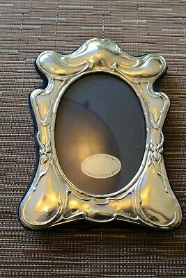 Antique Sterling Silver Picture Frame,Art Nouveau Style (7.5 x 5.5 in)