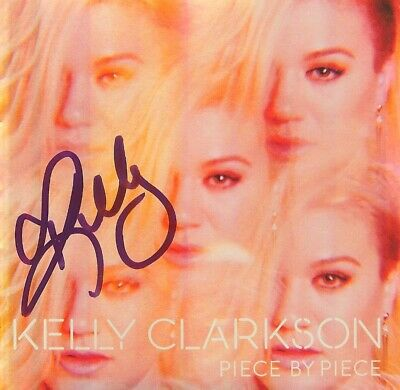 Kelly Clarkson Piece by Piece CD THE VOICE BRAND NEW AUTOGRAPHED SIGNED
