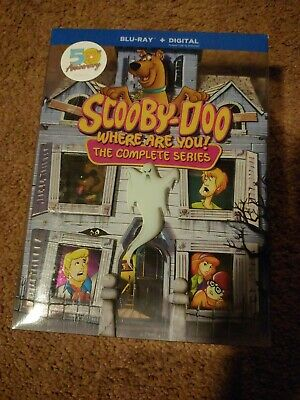 Scooby-Doo, Where are You! The Complete Series Blu-ray /50,000