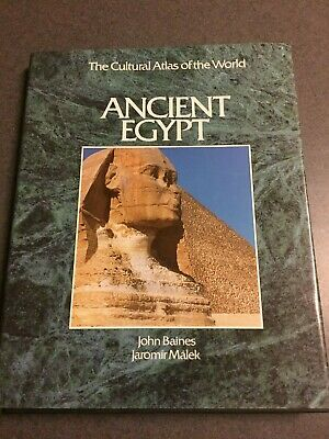Ancient Egypt The Cultural Atlas Of The World Large Color Hardcover 1991