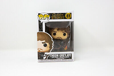 Funko Pop Game of Thrones Theon Greyjoy w/ Flaming Arrows #81 44821 w/ Protector