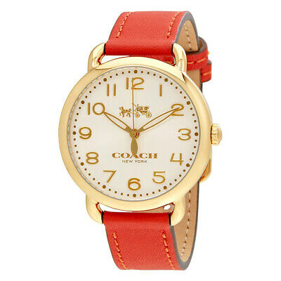 Coach Analog Casual Delancey Red Women's 14502719