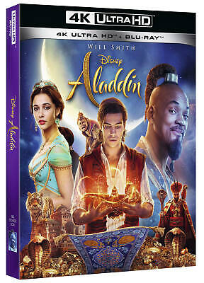 3894366 554597 Blu-Ray Aladdin (Live Action) (Blu-Ray 4K Ultra Hd+Blu-Ray)