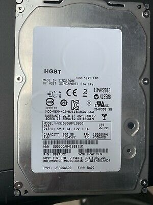 "Seagate 600Gb 15K 6G Sas 3.5"" For Dell R710 R720 R510 R410 Hdd Server Hard Drive"