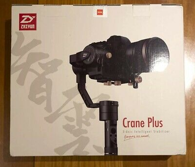 Zhiyun Crane Plus - 3 Axis Gimbal Stabilizer. Used Once. With Warranty.