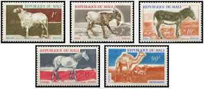 Timbres Animaux Mali 124/8 ** (40730C)