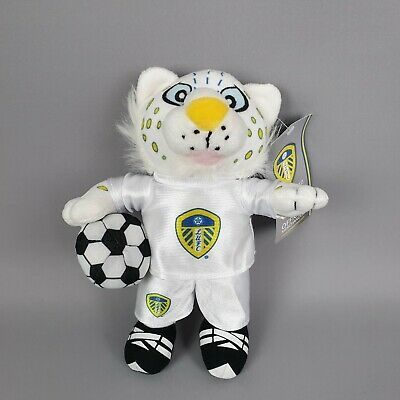 "Leeds United FC Official Medium Kop Cat Teddy 9"" Approx"
