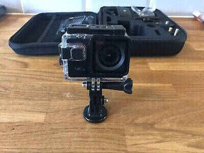 Apeman a80 action camera 4k waterproof with accessories and case