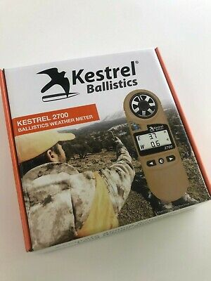 Kestrel 2700 Ballistics Weather Meter | Brand New | 5 yr Warranty | Next Day