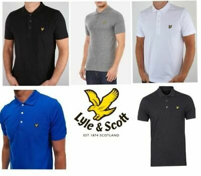 Lyle and Scott Short Sleeve Polo Shirt for Men's S M L XL XXL  SP400VB