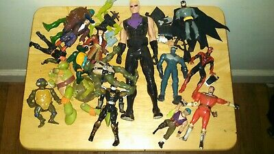 Junk Drawer Action Figure Toy Lot