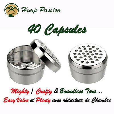 """Mighty / Crafty Capsules Matière Végétal, X40, """"Compatible Boundless Tera"""""""