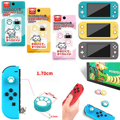 Joy-Con Thumb Grips Caps Silicone Cover Case for NS Switch Lite Game Controller