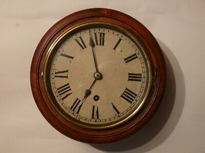 Superb and original Winterhalder & Hofmeier wall clock . Very rare 7 inch dial .