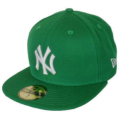 New York Yankees Green Cap by New Era, 59Fifty MLB Fitted Baseball Cap