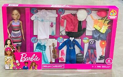 Barbie Dream Careers Doll and Fashions in Closet