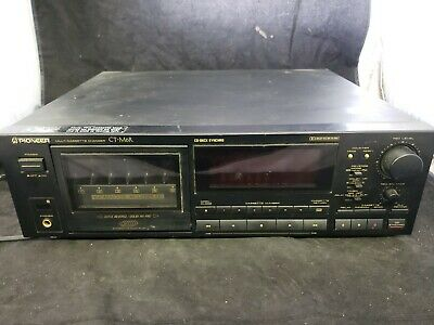 Pioneer Cassette Deck CT-M6R 6 Multi Changer Tested