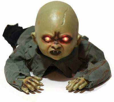 Halloween Crawling Baby Horror Zombie Prop Animated Haunted House Party Decor