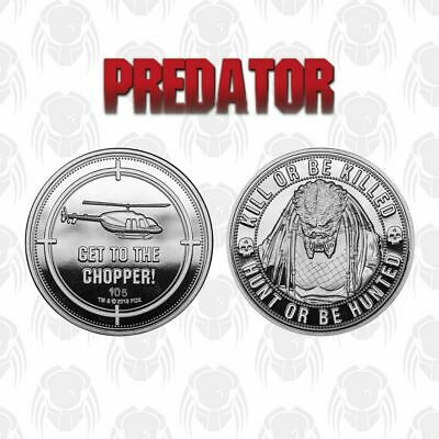 Official Predator Collectable RARE Coin Movie Gift Idea NUMBERED Limited Edition