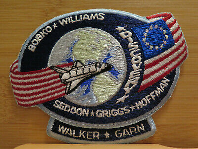 STS-51D DISCOVERY NASA SPACE SHUTTLE Mission PATCH