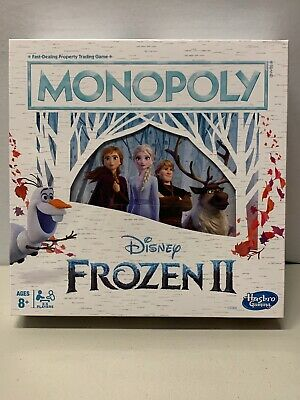 NEW Disney Frozen 2 Monopoly Board Game By Hasbro 2019 Sealed-Free Shipping