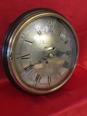 "Exceedingly rare and valuable 18th century 10"" dial clock"