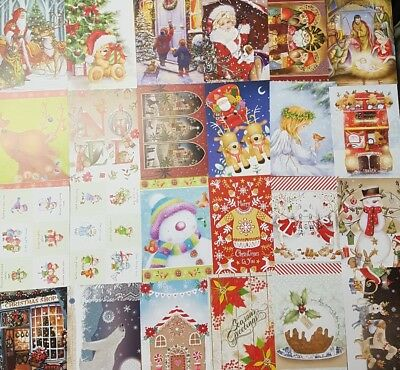 Hunkydory little books- third little book of christmas- 24 sheets