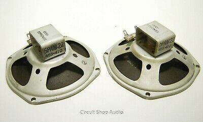 "Pair of 5"" Oxford Alnico Speakers / 5PAM-22 / 16 Ohm"
