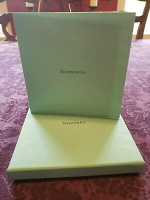 Tiffany & Co. Stationary Gift Card Holder with Box